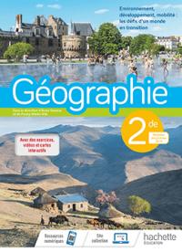 2<sup>de</sup> - Géographie