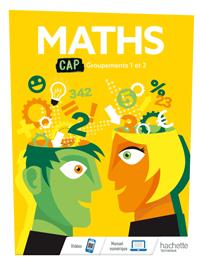 CAP - Mathématiques Groupements 1 et 2 (manuel)