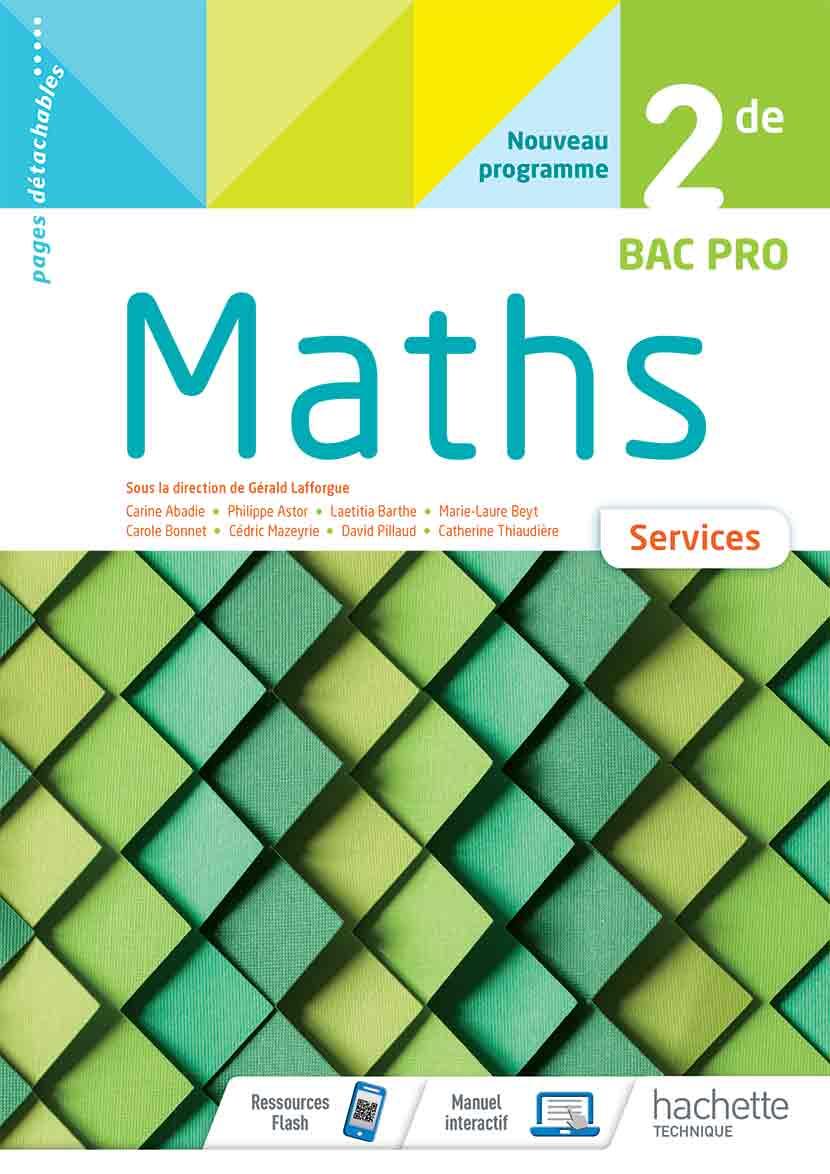 2<sup>de</sup> Bac Pro - Mathématiques (Services)