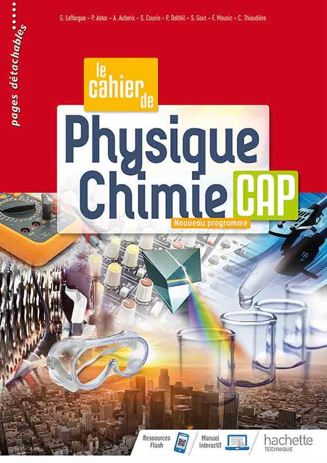 CAP - Physique-Chimie (cahier)