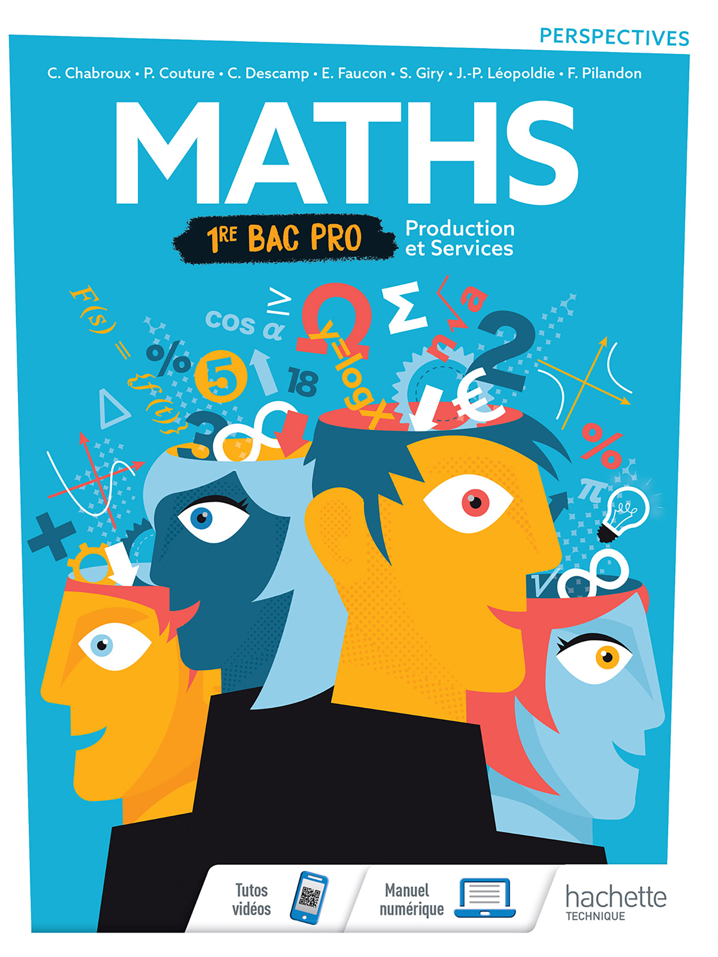 1<sup>re</sup> Bac Pro - Perspectives - Mathématiques (Production et Services)